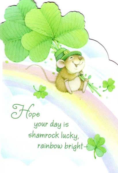 Hope You Day Be Shamrock Luck: St. Patricks Day