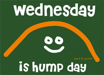 Happy Hump Day! Greetings