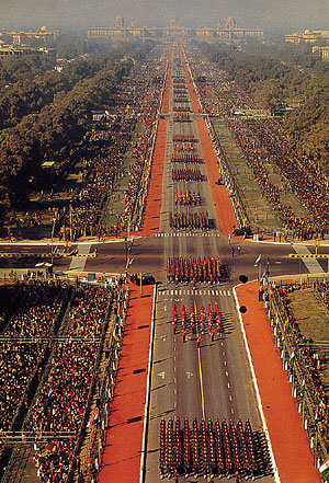 March Past on Republic Day
