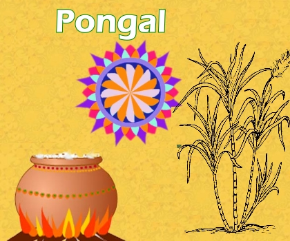 Pongal Ecard for Facebook