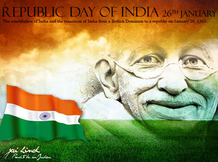 Republic Day of India January 26