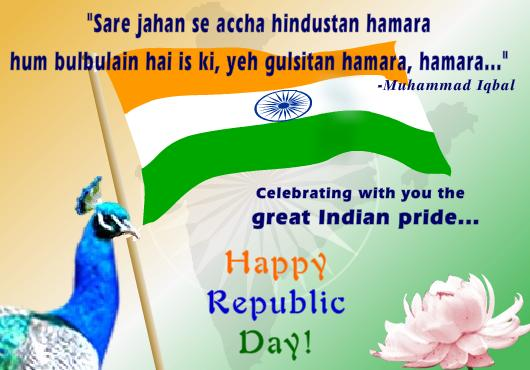 Happy Republic Day Greetings for Facebook