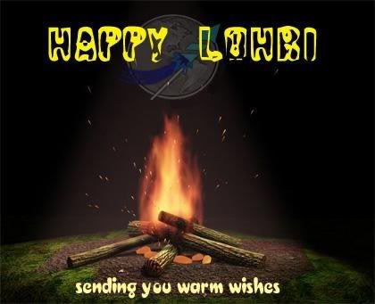 Sending You Warm Wishes On Lohri