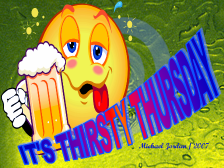 Join Me For Thirsty Thursday