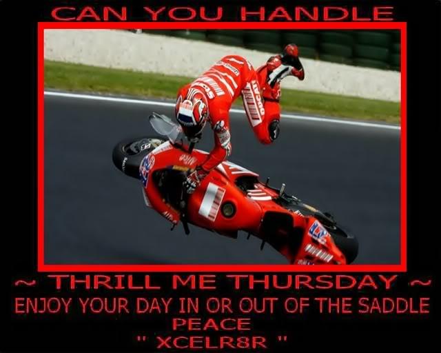 Thrill Me Thursday