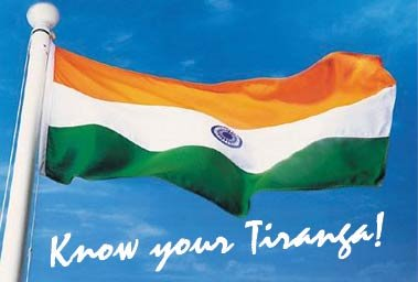 Tricolor of India - Happy Republic Day