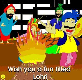 Wish You A Fun Filled Lohri