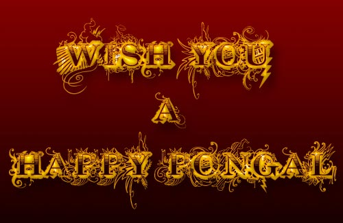 Wish You Happy Pongal