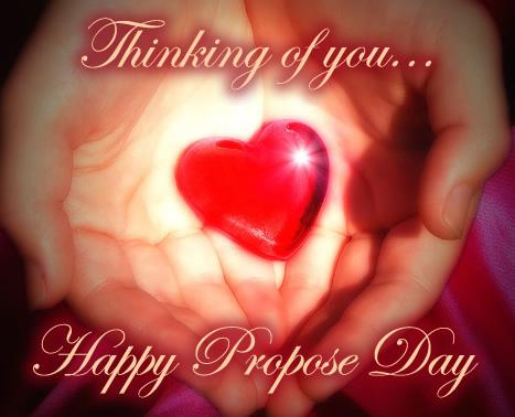 Thinking of You: Happy Propose Day