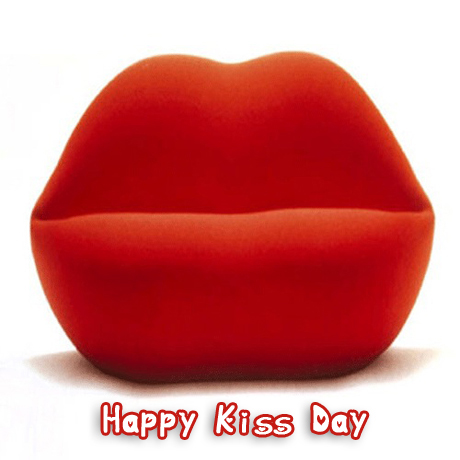 Happy Kiss Day Ecard