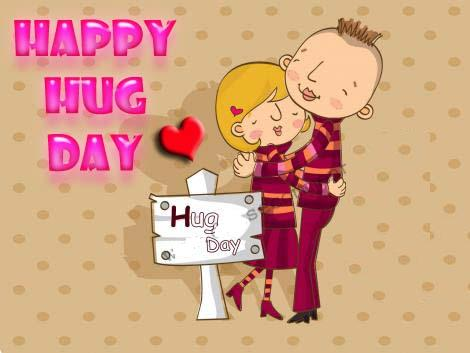 Happy Hug Day Graphic for Myspace