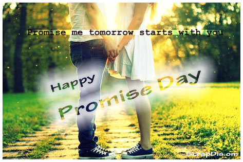 Romantic Promise Day Greetings