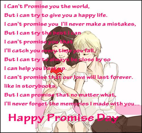 Happy Promise Day Picture for Facebook