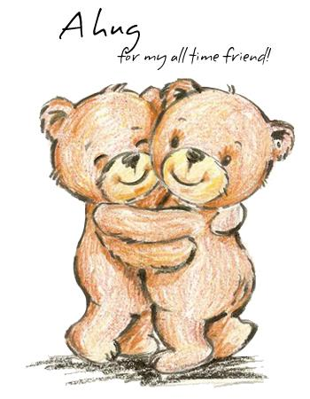 A Hug for My All Time Friend: Happy Hug Day