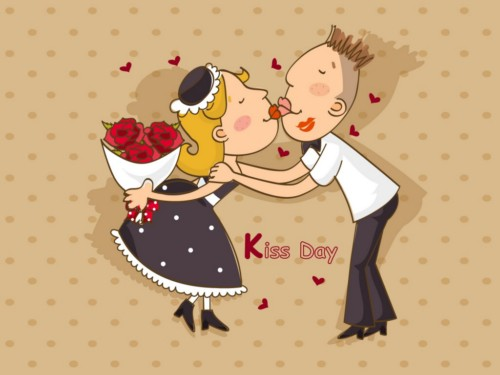 Happy Kiss Day: Image for Myspace