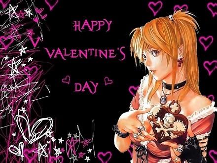 Happy Valentine's Day: Myspace Graphic