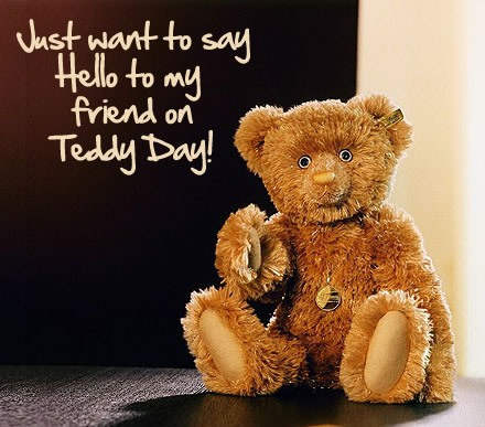 Teddy Day Ecard for Facebook