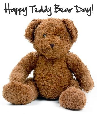 Happy Teddy Bear Day Ecard