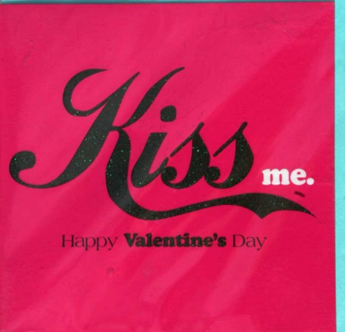 Kiss Me: Happy Kiss Day Ecard