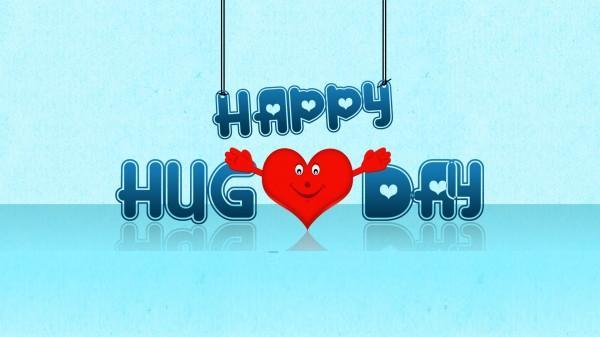 Happy Hug Day Graphic
