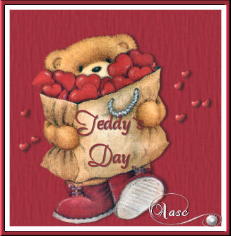 Teddy Day: Greeting Card for Facebook