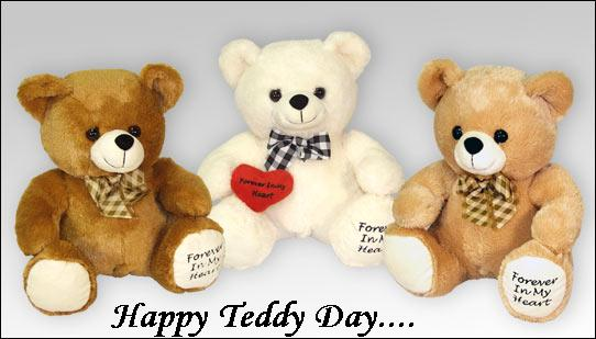 Happy Teddy Day: Facebook Greeting