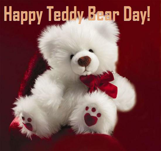 Happy Teddy Bear Day Pic
