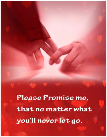You Will Never Let Go: Promise Day Image