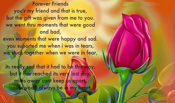 Friends Forever Wonderful Ecard
