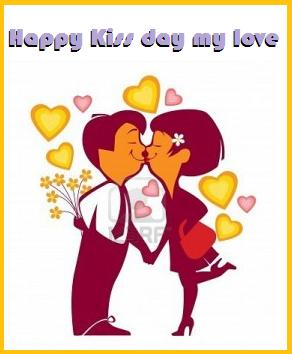 Happy Kiss Day My Love: Image for f Share