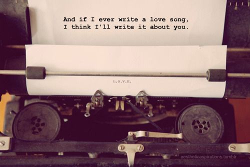 And i if ever write… - Love Quote