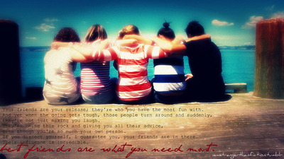 Best Friends Are What You Need Most ~ Best Friendship Quote
