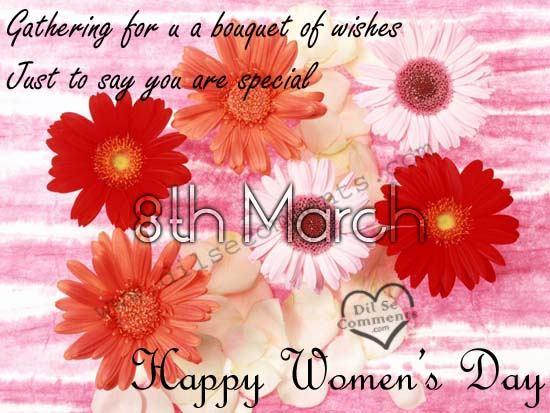 Best orkut scraps for Womens Day Graphics99.com