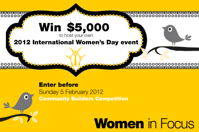 Celebrate International Women's Day 8 March