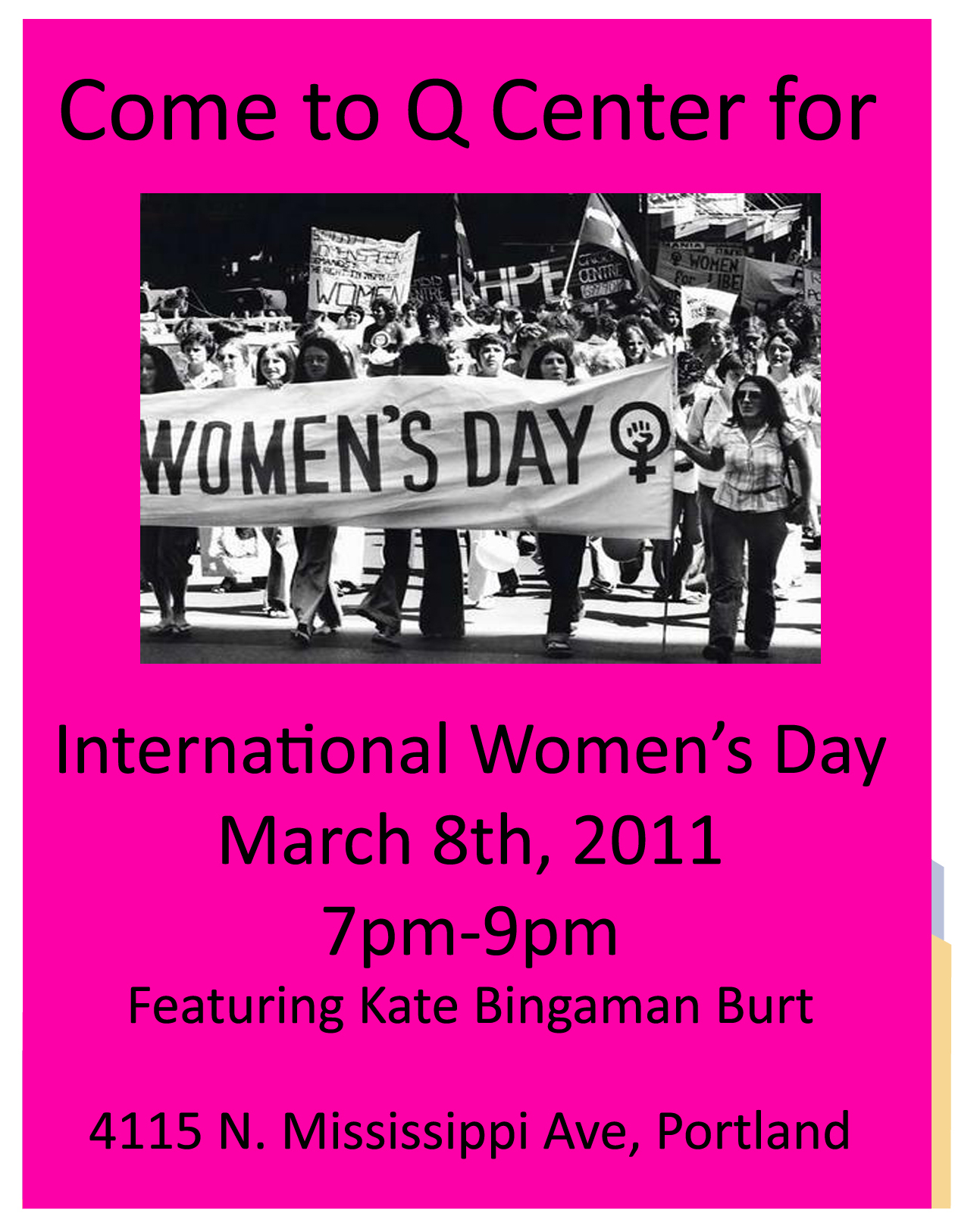 celebrate International Women's Day with us