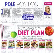 column in Woman's Day