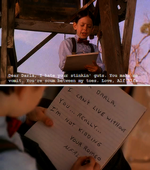 Dear Darla - Love Quote