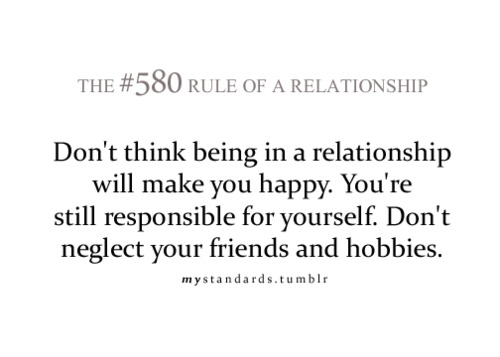 Dont think being in a relationship : Best Love Quote