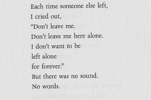 Each time someone else left ~ Love Quote