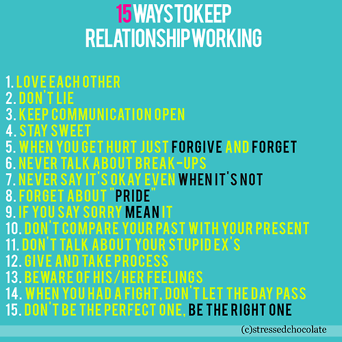 Ways To Move On From A Relationship