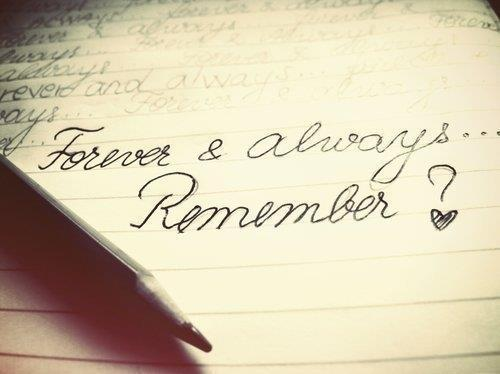Forever and always - Quote