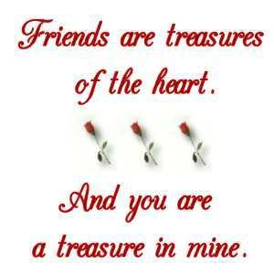Friends Are Treasures of the Heart | Friendship Quote