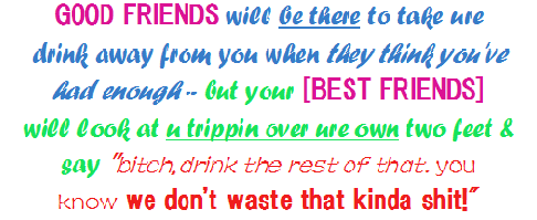 Good Friends and Best Friends - Friendship Quote
