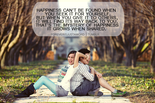 Happiness cant be fine : Happiness Quote