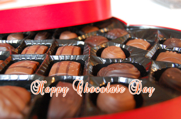 Happy Chocolate Day: Greeting Card