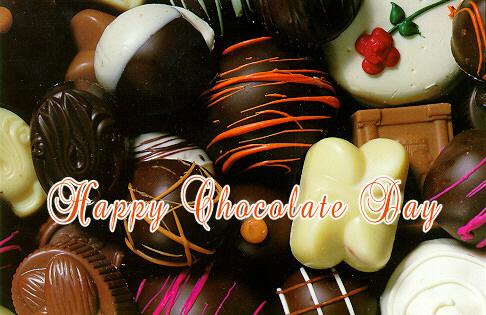 Wonderful Happy Chocolate Day To You