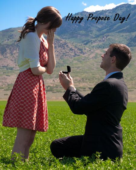 Happy Propose Day! Facebook Image
