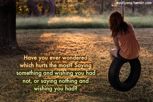 Have you ever wondered ~ Love Quote