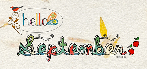 Greetings Quote ~ Hello september…