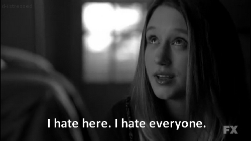 Hate Quote : I hate everyone.